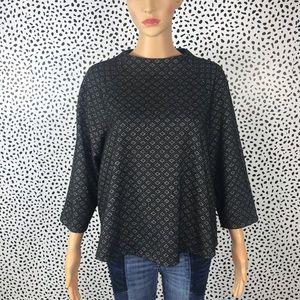 Anthro || W5 nwot blouse 3/4 sleeve size Xl